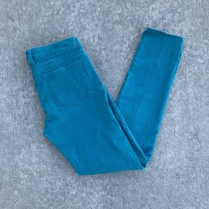 Kut from the Kloth size 6 teal skinny jeans